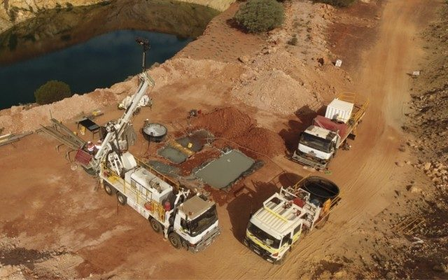 Drilling results are about to start flowing from Gateway's Gidgee gold project