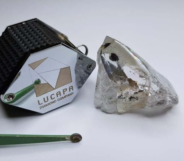 Lucapa keeps finding the +100 carat sparklers in Angola