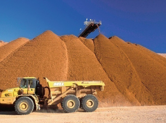Sand miners on the move
