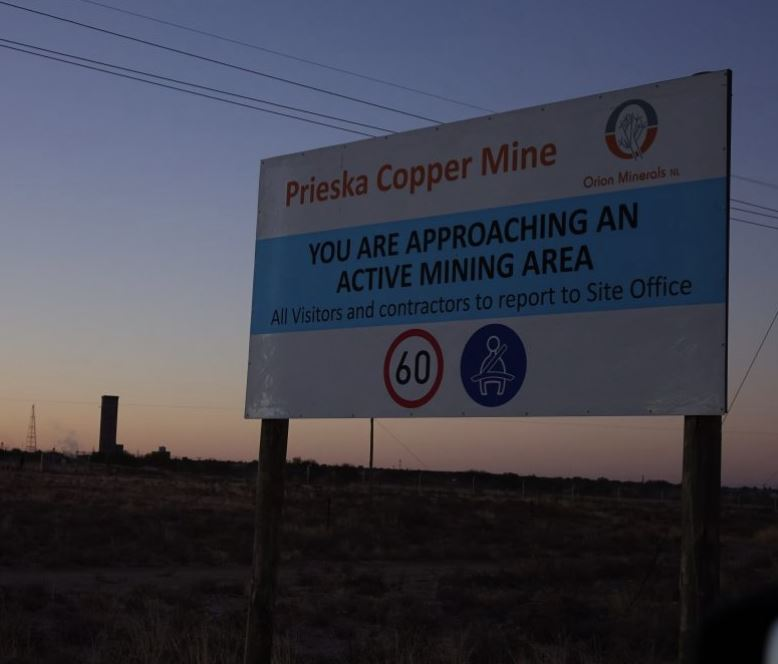 Orion's Prieska Project a litmus test for South Africa's mining revival, says Forbes
