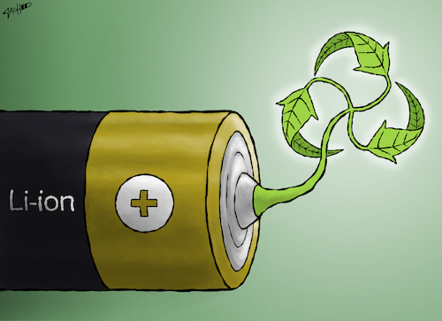 Lithium booms in the battle for electric-vehicle batteries